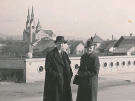 Franjo in Iva v Ljubljani leta 1939; Franjo and Iva in Ljubljana 1939